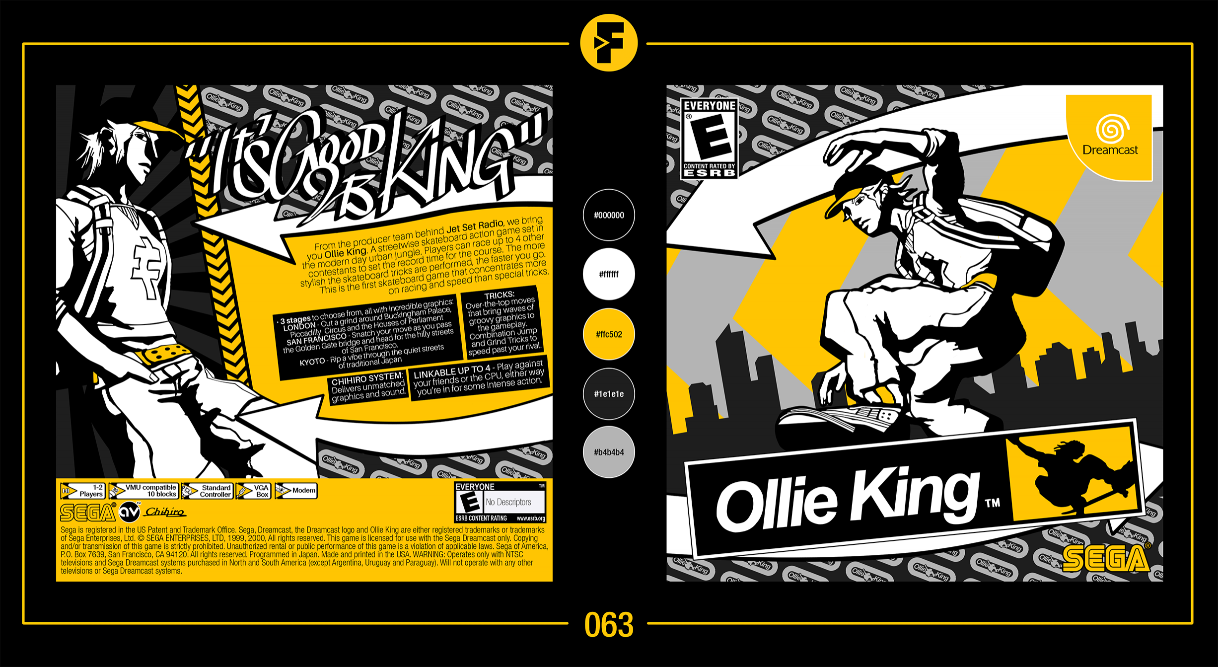 Ollie King box cover