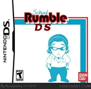 School Rumble DS box cover