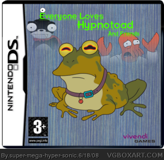Everyone Loves Hypnotoad And Friends box cover