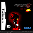 Shadow The Hedgehog 2 Red dawn version Box Art Cover