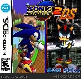 Sonic Adventure 2 DS box cover
