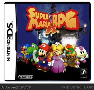Super Mario RPG DS box cover