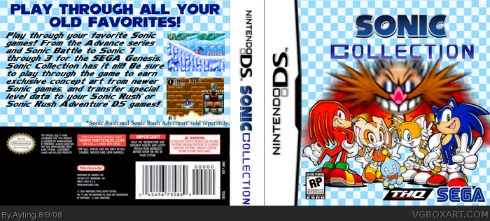 Sonic Collection box art cover