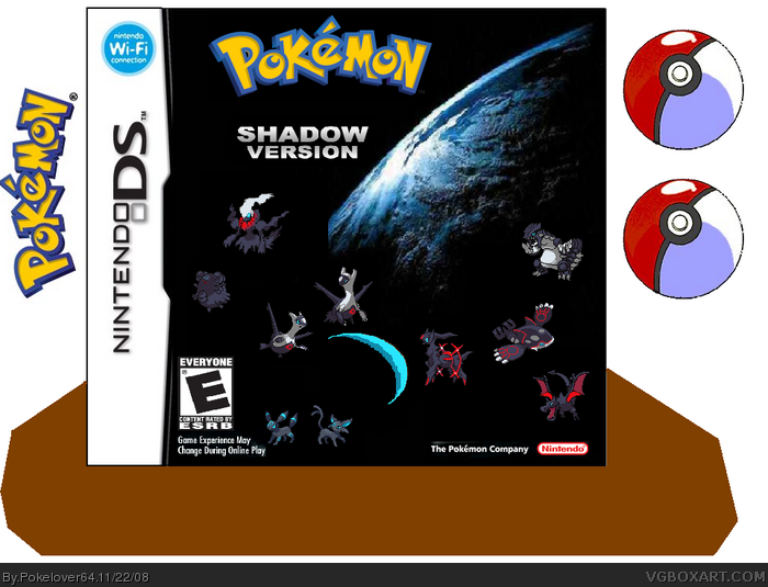 Pokemon: Shadow Version box art cover