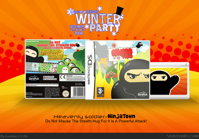 NinjaTown box art cover