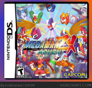 Megaman ZX Advent box cover