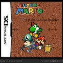 Super Mario The paper house builder Box Art Cover