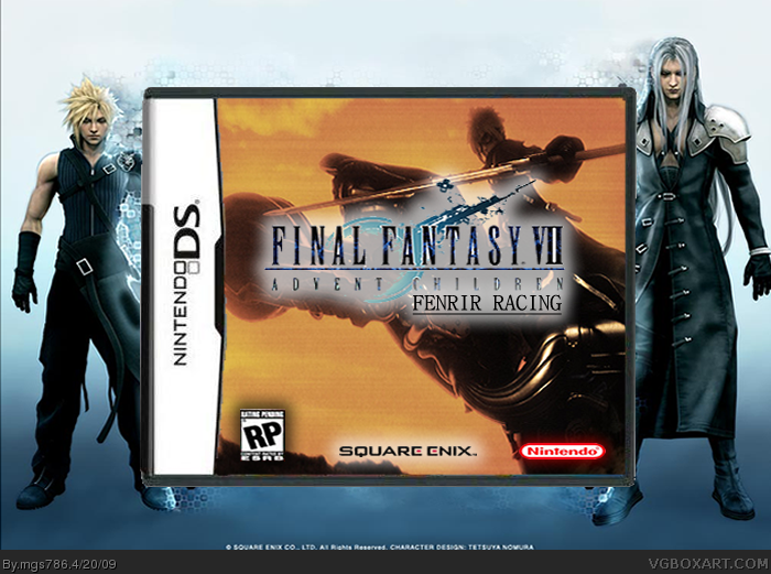 Final Fantasy VII - FENRIR Racing Edition box cover