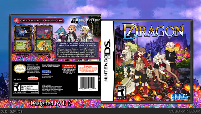 7th Dragon box art cover