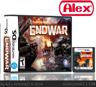 Tom Clancy's: EndWar box art cover