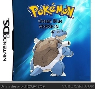 pokemon ocean blue box cover