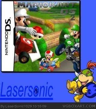 Mario Kart DS 2 box cover