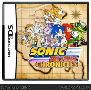 Sonic Rush Chronicles box cover