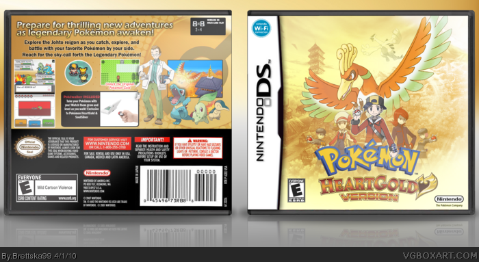 Pokémon: HeartGold box cover