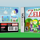 Paper Zelda Box Art Cover