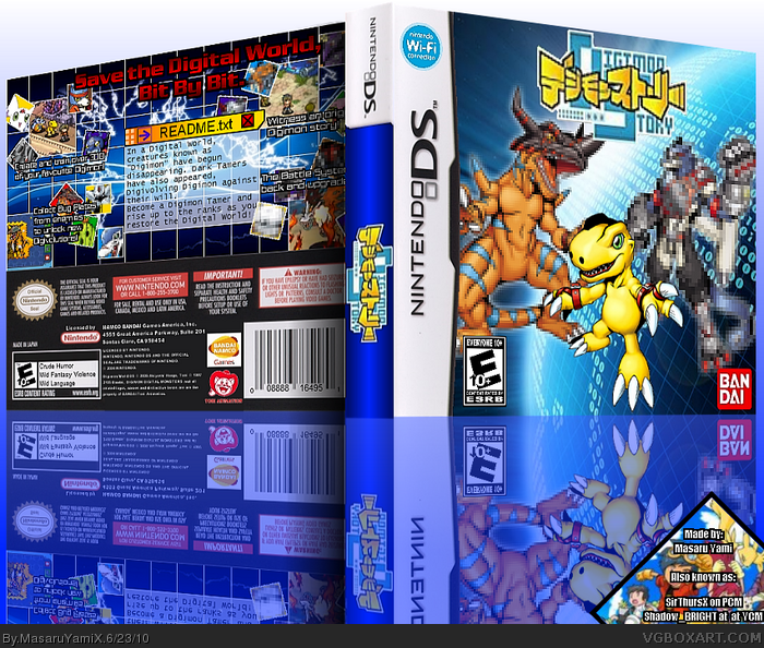 Digimon World: Lost Evolution box art cover