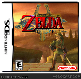 The Legend of Zelda: Twilight Princess box cover