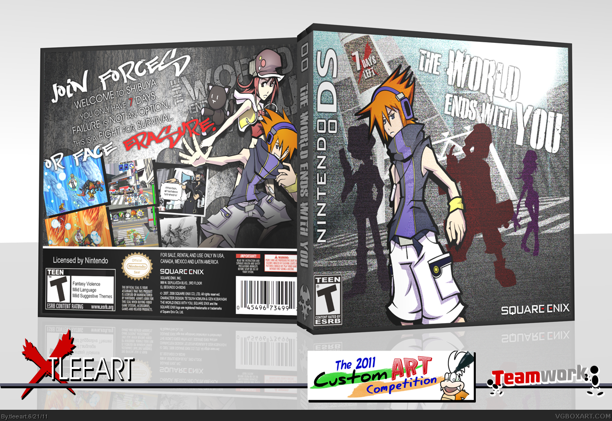 The World Ends With You box cover