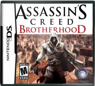 Assassin S Creed Brotherhood Nintendo Ds Box Art Cover By