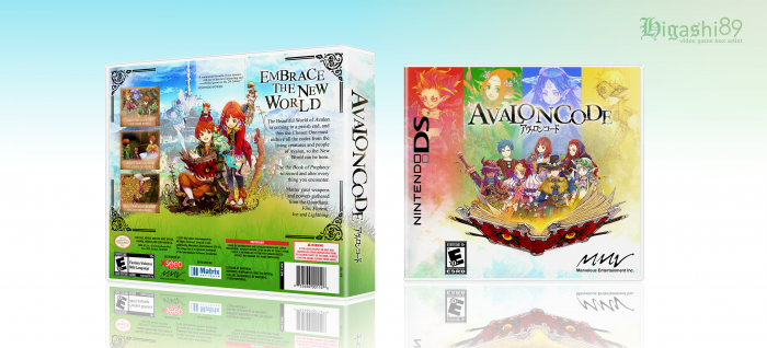 Avalon Code box art cover