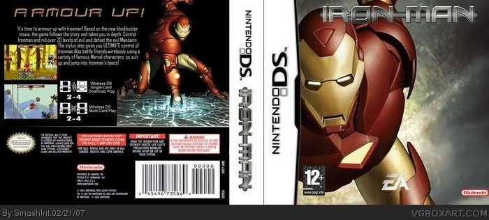 Iron-Man box art cover
