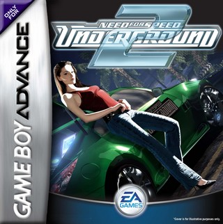Need For Speed Underground 2 Game Boy Advance Box Art Cover By