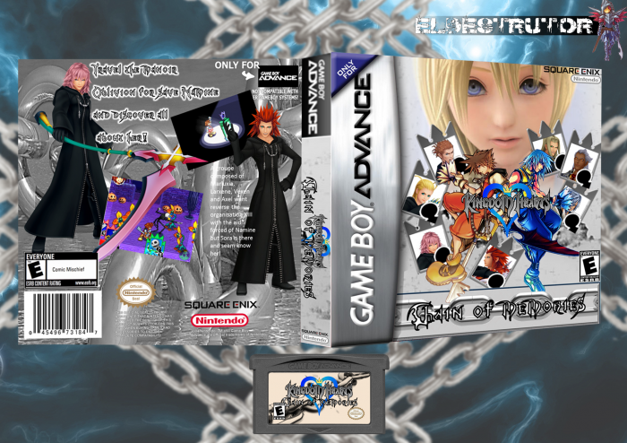 Kingdom Hearts Chain of Memories box art cover
