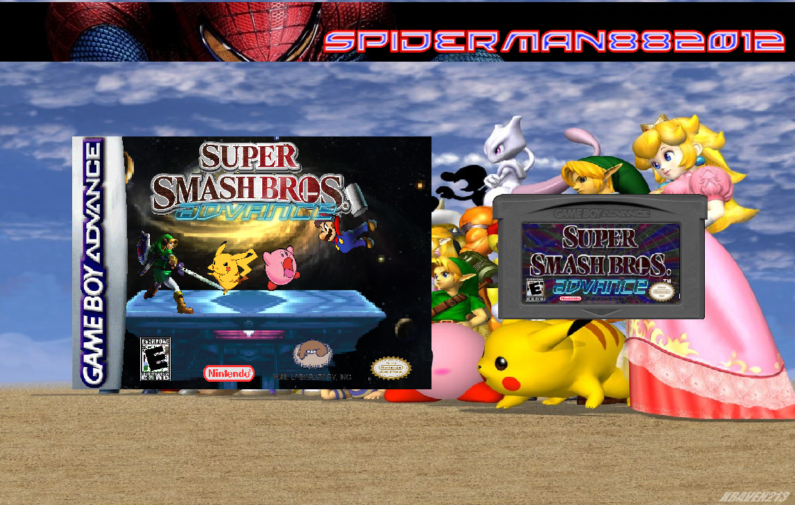 Super Smash Bros Advance box cover