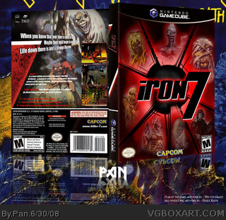 Iron7 box art cover