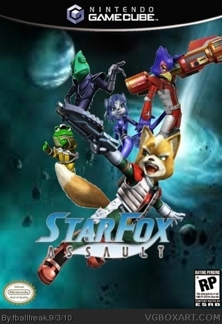 Starfox Assault box cover