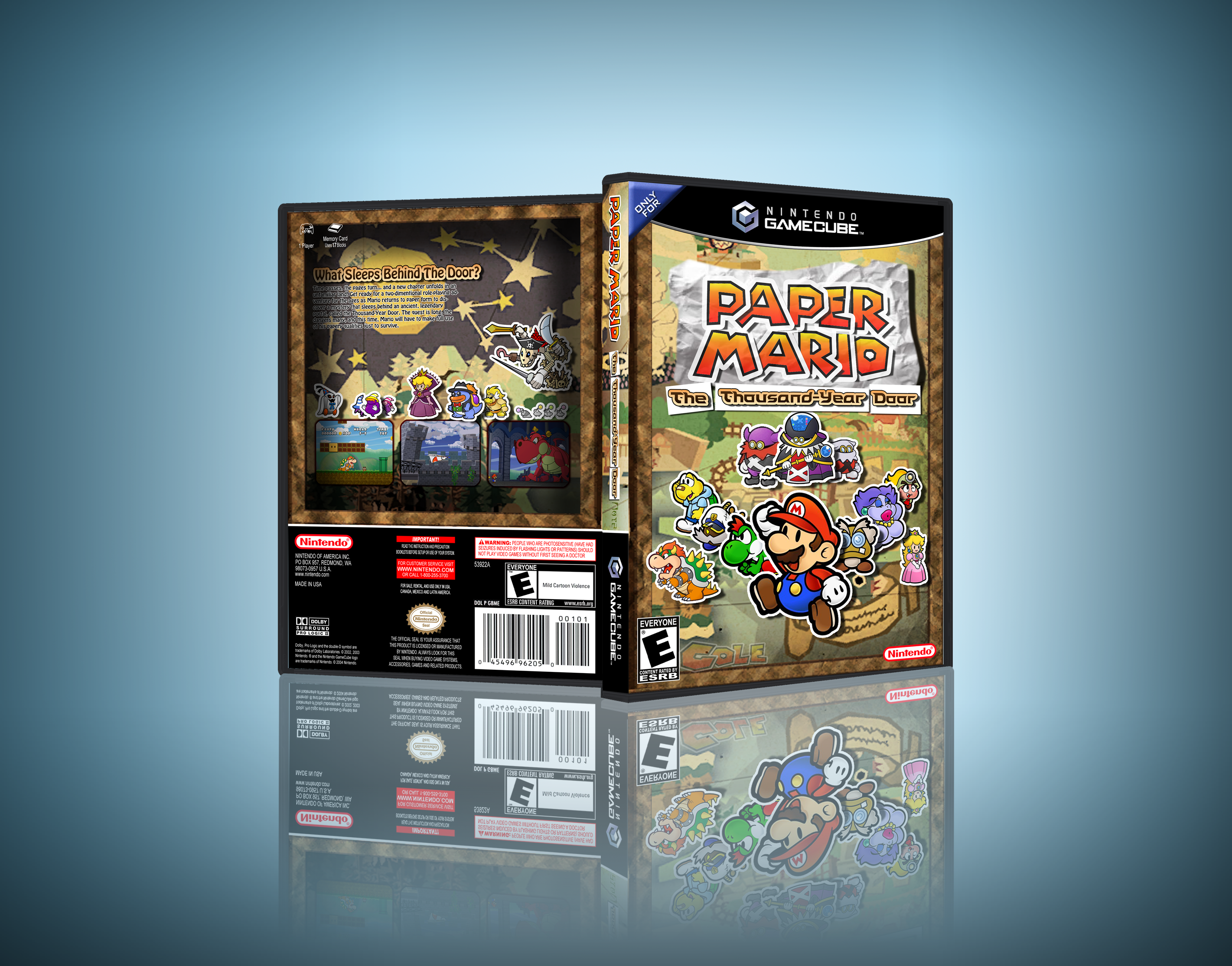 Paper Mario: The Thousand Year Door box cover