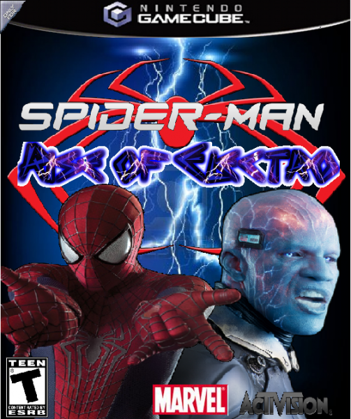 Spider-Man Rise of Electro box cover
