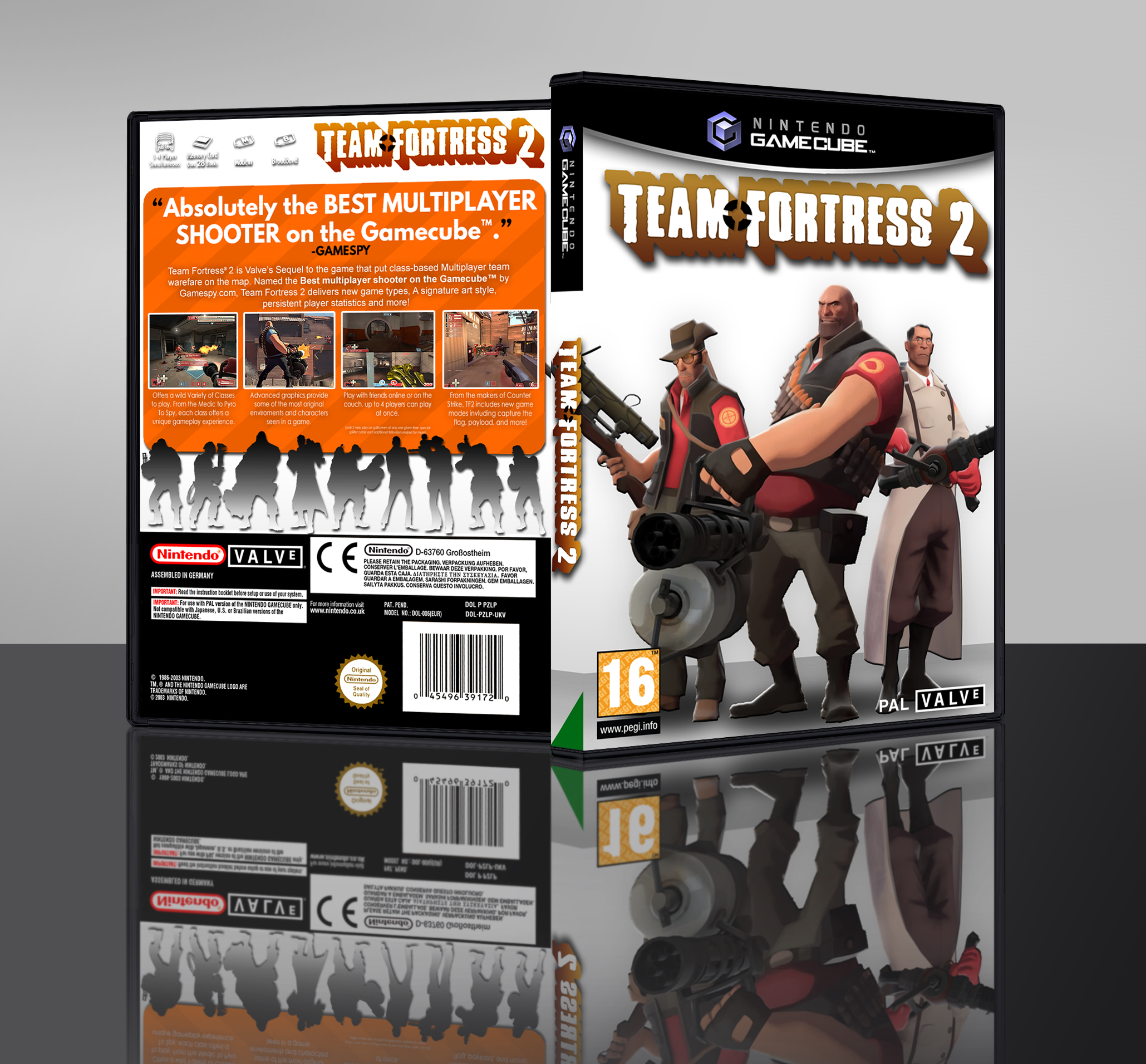 Team Fortress 2 box cover