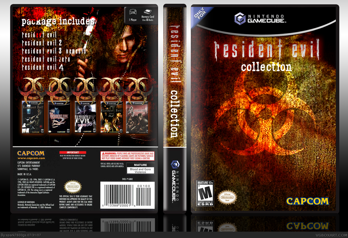 Resident Evil Collection box cover