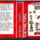 Knuckles Chaotix Box Art Cover