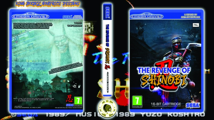 The Revenge Of Shinobi box art cover