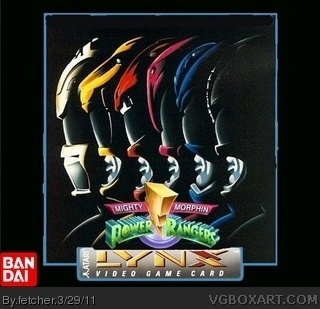Mighty Morphin Power Rangers box art cover