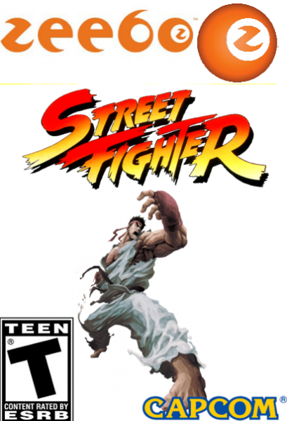 Street Fighter box cover