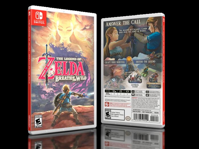 The Legend Of Zelda Breath Of The Wild Misc Box Art Cover By Brettska99
