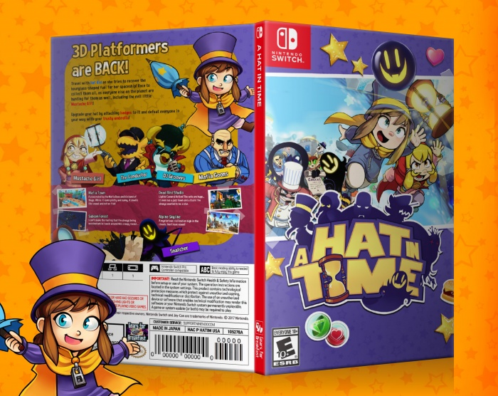 A Hat in Time box art cover