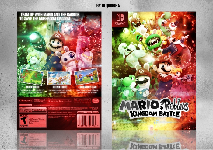 Mario + Rabbids: Kingdom Battle box art cover