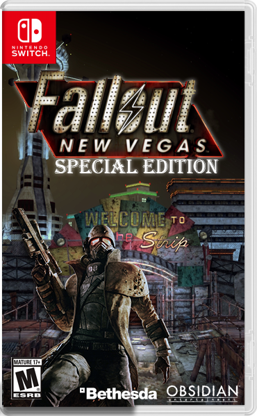 Fallout: New Vegas Special Edition box cover
