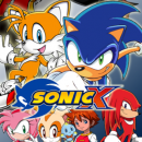 Sonic X Box Art Cover