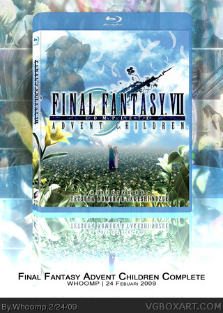Final Fantasy: Advent Children Complete box art cover