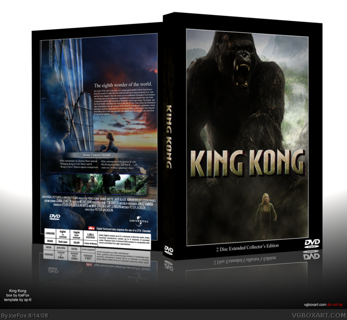 King Kong box art cover