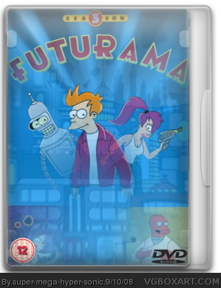 Futurama: Season 3 box cover