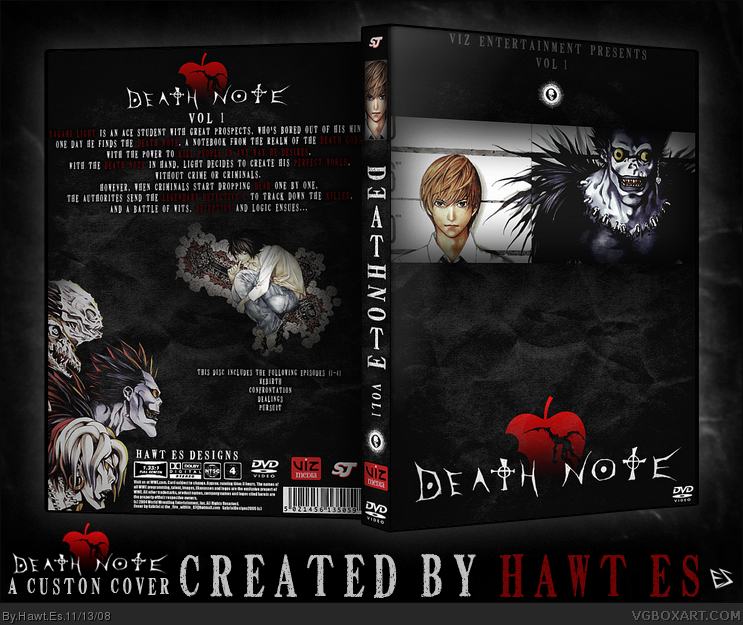 Death Note (Anime) box cover
