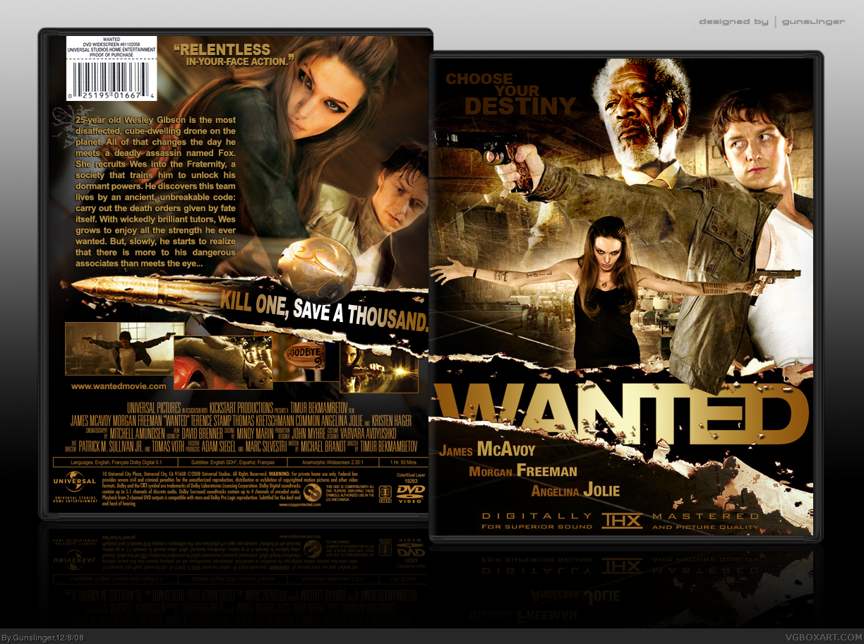 Wanted box cover