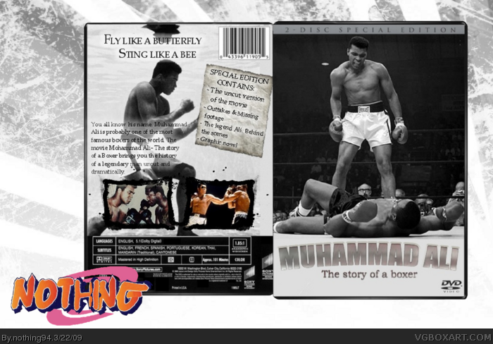 Muhammad Ali: The story of a Boxer box art cover
