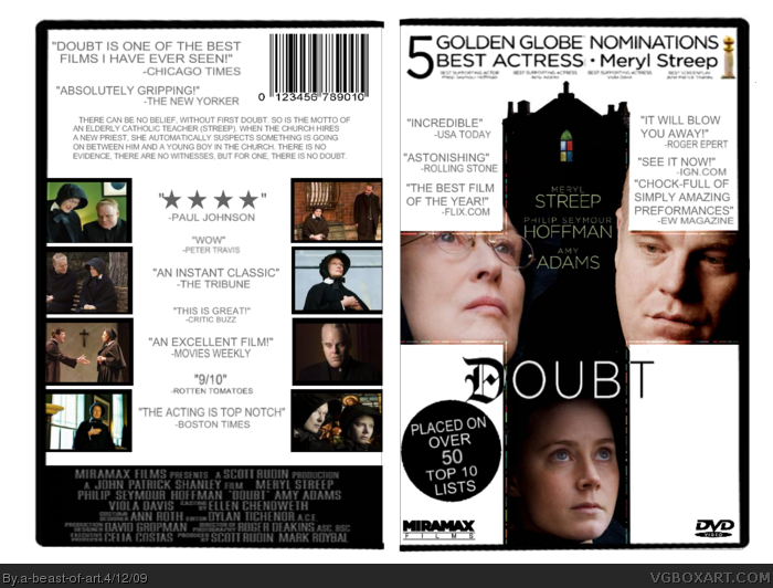 Doubt box art cover